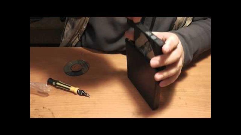 Собираем внешний DVD-RW из  привода от ноутбука и внешнего бокса - Обзор