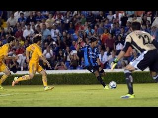 Penal Fallado de Ronaldinho Queretaro vs Tigres 0-1 Copa MX 2014 - Ronaldinho Falla Penalti en Debut