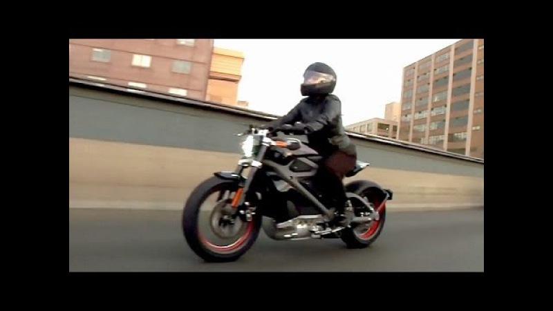 Harley-Davidson представляет электромотоцикл LiveWire (новости)
