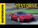 Ferrari 488 GTB 2015 Sound Test Drive