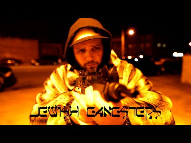 NECRO (JEWISH GANGSTERS) - TOUGH JEW RABBI HOLDING GUNS (SHYNE INTRO) OFFICIAL VIDEO Real Hiphop