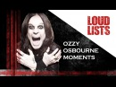 10 Unforgettable Ozzy Osbourne Moments