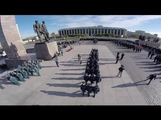 Присяга первокурсников и торжественная клятва кадет Санкт-Петербурского университета ГПС МЧС России