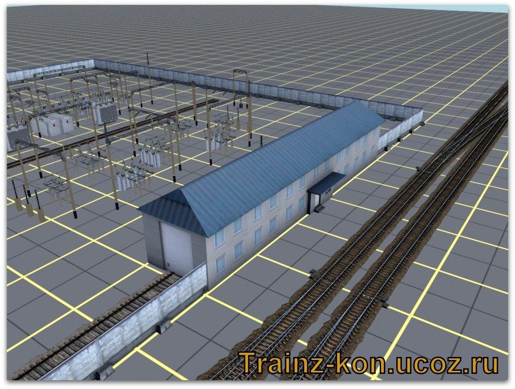 TRS: Здание дистанции электроснабжения