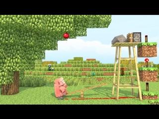 Советский мультфильм про семью свиней