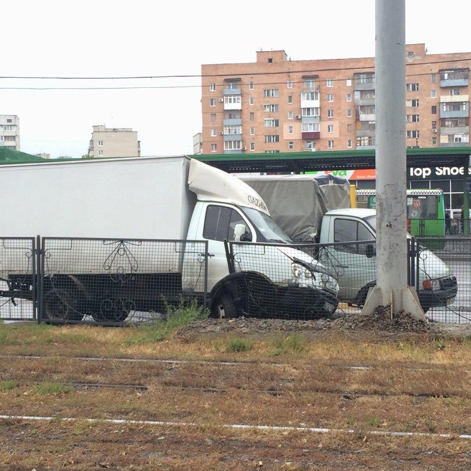 Харьковская Газель не осилила барьер (ФОТО)