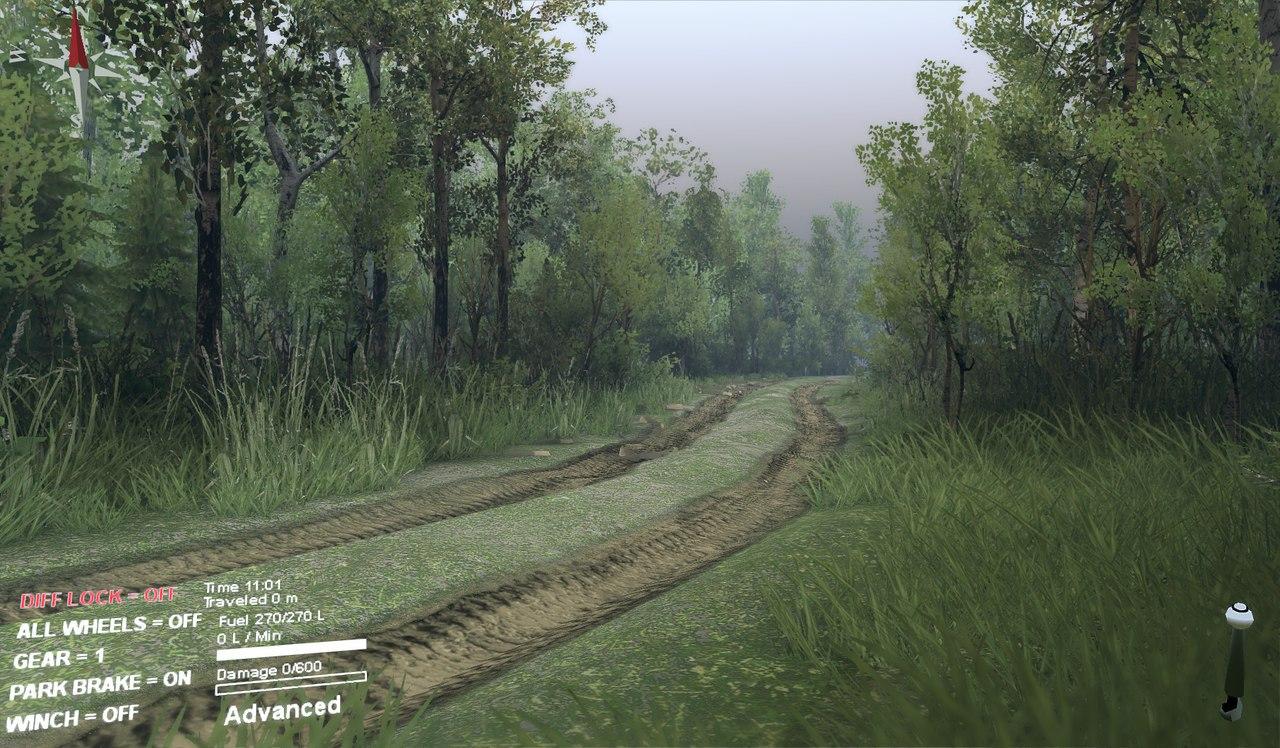 Новые дороги для редактора карт для Spintires - Скриншот 1