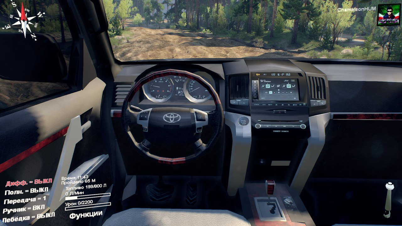 Toyota Tundra OFFroad. для Spintires - Скриншот 2