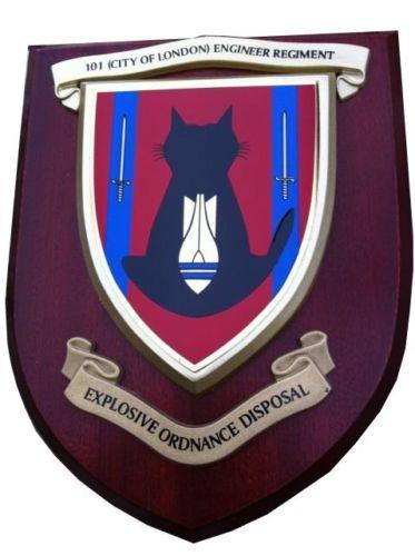 Герб 101 Инженерного королевского полка