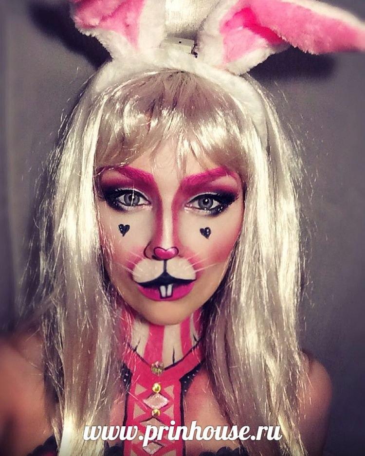 образ зайки на Halloween