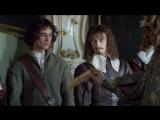 Филипп Янковский в роли короля Людовика XIII. Отрывки из сериала Три мушкетера (2013)