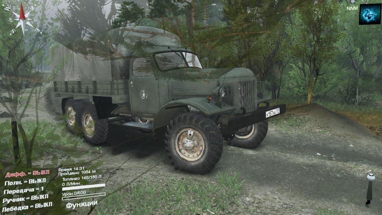 """ЗиЛ-157 """"Захар"""" для Spintires - Скриншот 1"""