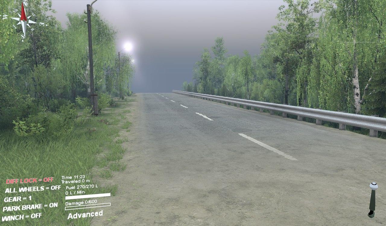 Новые дороги для редактора карт для Spintires - Скриншот 2