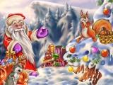 Мультфильм песенка про Новый Год для самых маленьких. Развивающий мультик про Деда Мороза - копия