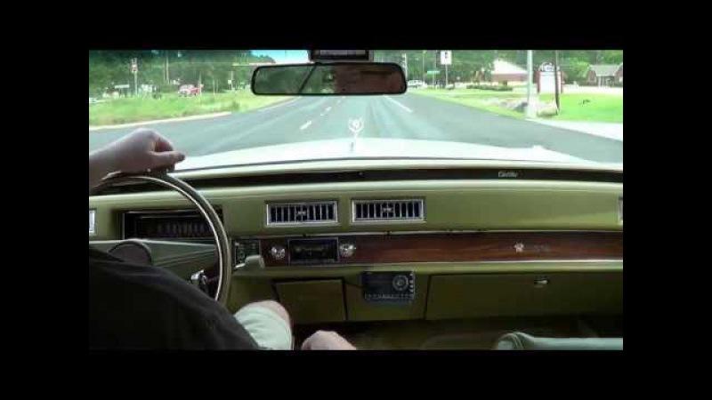 Ride in 1976 Cadillac Sedan deVille