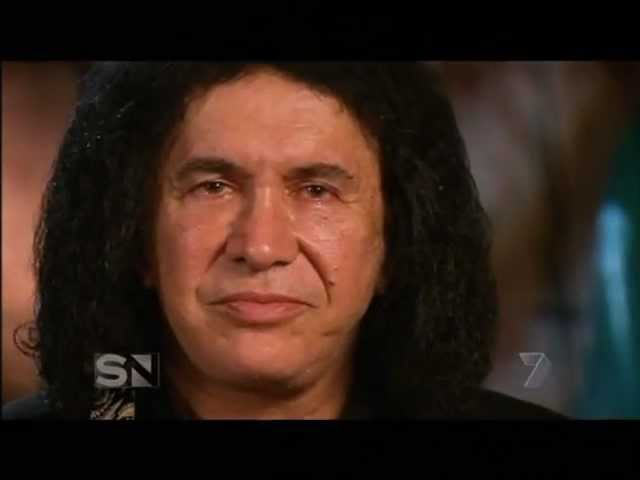 Gene Simmons - Proud Egomaniac - Interview on Sunday Night Channel 7 Australia