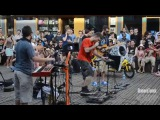 Dub FX ft. Talib Kweli - Street Performance - Live in Hamburg 2014