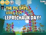 Angry Birds Seasons - The Pig Days - Трёхзвёздное прохождение - 3-14 - День лепрекона
