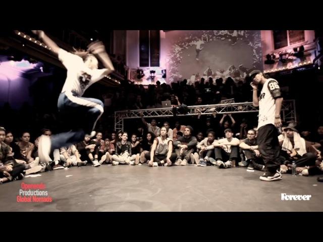 Judge Battle DEDSON vs KYOKA Hiphop Forever 2014