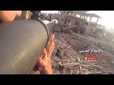 Съемка боя на GoPro. Бойцы Хезболлы работают по исламистам в Забадани