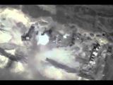 Уничтожение замаскированного подземного бункера боевиков в провинции ХАМА
