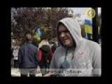 30 сентября в Киеве общественное движение «Прав?Да!» провело мирный пикет под посольством США.