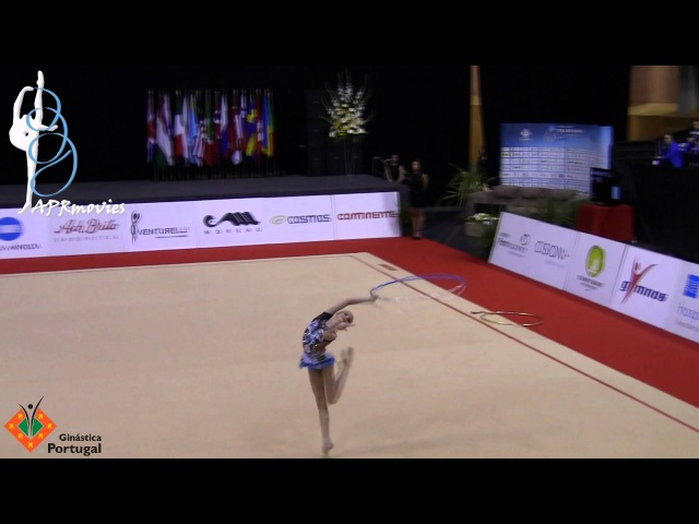 Alina Ermolova - RUS - Arco (Hoop) - Junior - IT of Lisbon 2015