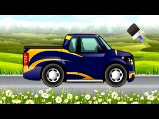 Cartoon about cars. PICKUP TRUCK. Car Wash Salon Truck. Мультики про Машинки. ПИКАП.