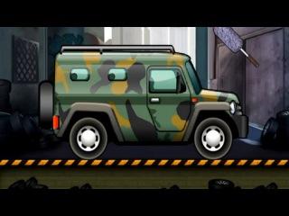 Cartoon about cars. HAMMER. Car Wash Salon Truck. Мультики про Машинки. ХАММЕР.