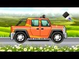 Cartoon about cars. SUV. Car Wash Salon Truck. Мультики про Машинки. ВНЕДОРОЖНИК. Автосервис.