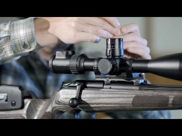 SWAROVSKI OPTIK Как выполнить пристрелку оптического прицела X5 для стрельбы на дальние дистанции