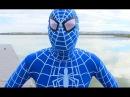 The Amazing Blue Spiderman vs Venom - Real Life Superhero Movie