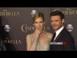Disney's 'Cinderella' World premiere - Richard Madden, Lily James, Cate Blanchett, Jenna Coleman