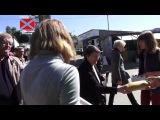 Раздача хлеба в Донецке 20.09 Гуманитарным батальоном Новороссия