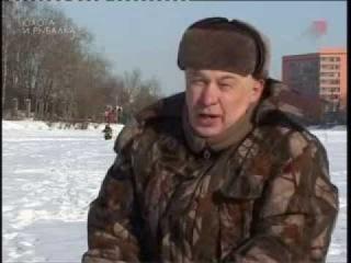 Ловля на балду зимой окуня-Монтаж,оснастка Владимир Струев видео «Мастер-класс»