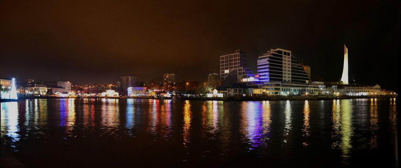 Вечерние огни.<br>Фото: Александра Полякова.