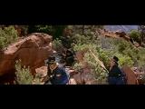 Атака солдат на гору, занятую индейцами (Бой барабана)