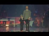 Егор Крид и слепой мальчик Слава Проскурин из Новосибирска поёт - самая самая