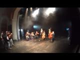 Съёмки клипа Тучи в Питере. Зазеркалье ActionCamera 6