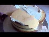 Очень простой и нежный торт из мастики на свадьбу или день рождения (мастика мастер класс).
