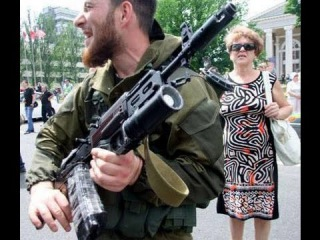 Ответ на угрозы русского  террориста 'Гиви'
