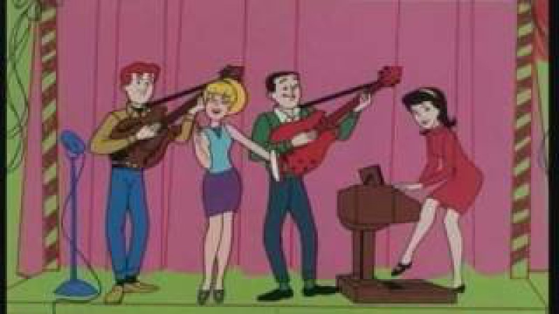 The Archies Sugar Sugar Original 1969 Music Video