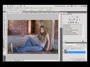 Грамотное наложение текстуры в Фотошопе avi
