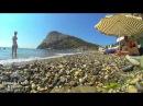 ч1 Пляжи Черного моря Крым 2014 под музыку