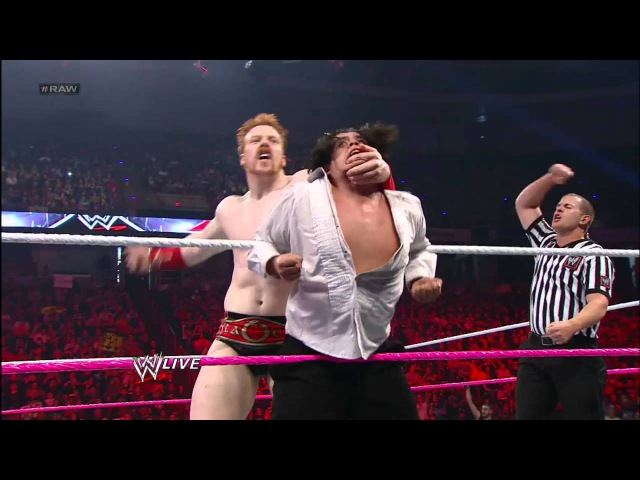 Sheamus, Rey Mysterio Sin Cara vs. Alberto Del Rio, David Otunga Ricardo Rodiguez: Raw, Sept. 24