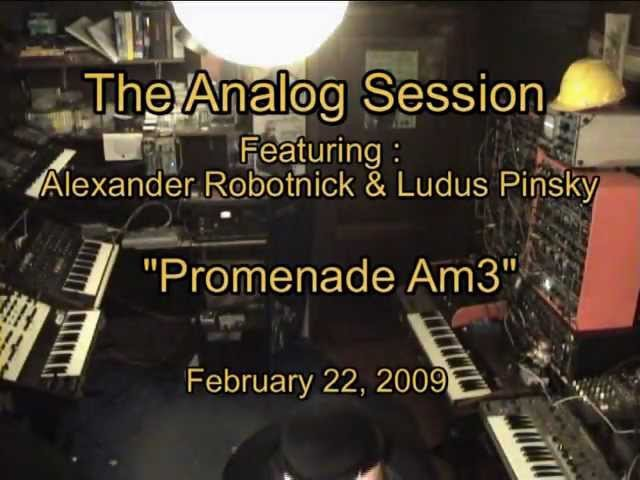 The Analog Session - Promenade Am3