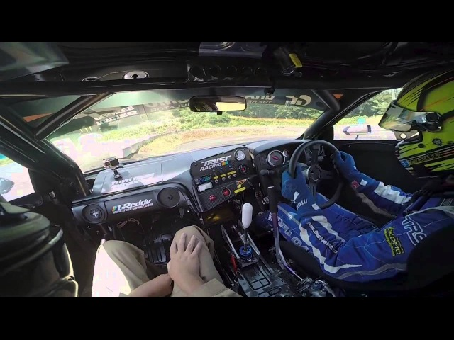 Peter Kelly — Riding Shotgun with Masato Kawabata in The D1GP GREDDY TOYO R35 GT-R.