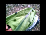 Путешественник Илья Фролов.Саморазборная палатка quechua 2 sec.Пеший марш бросок Выборг Владивосток