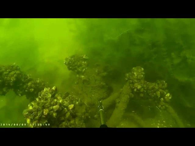 Голубое озеро г Днепродзержинск с Елизоветовка Blue Lake Ukraine Dneprodzerginsk
