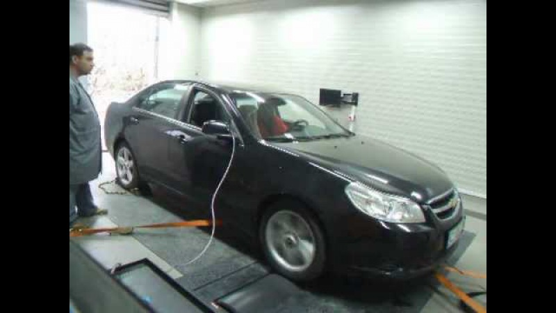 Chevrolet Epica 20 VCDI 150hp tuned by LVB 188hp 410nm dynotest